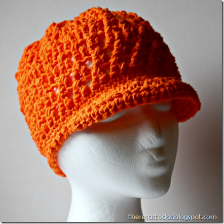 Crochet Hipster With Brim