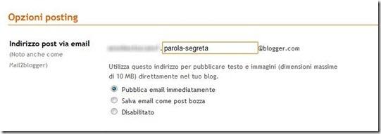 mail2blogger