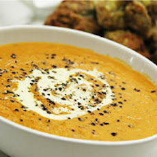 Fall Pumpkin Basil Soup