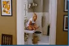 peeing woman