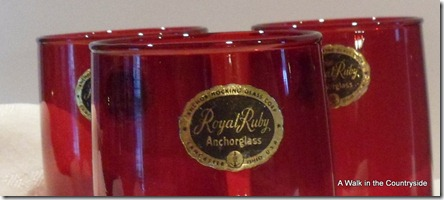 A Walk in the Countryside: Royal Ruby Anchorglass