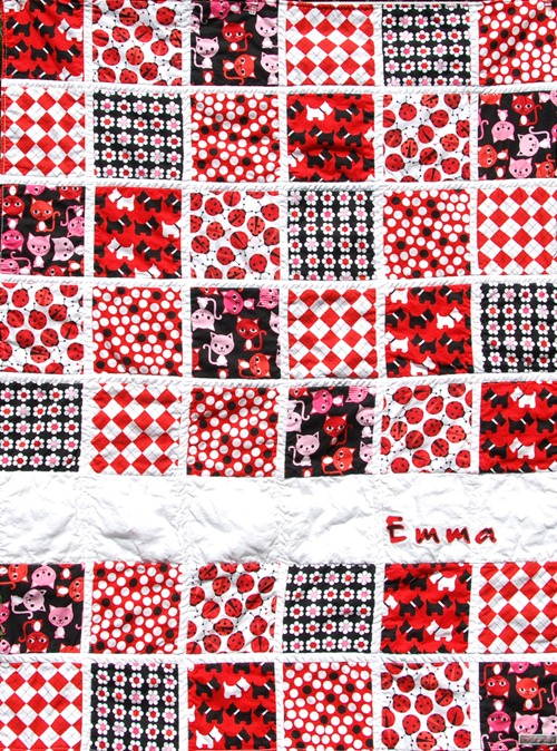 Emma Quilt closeup