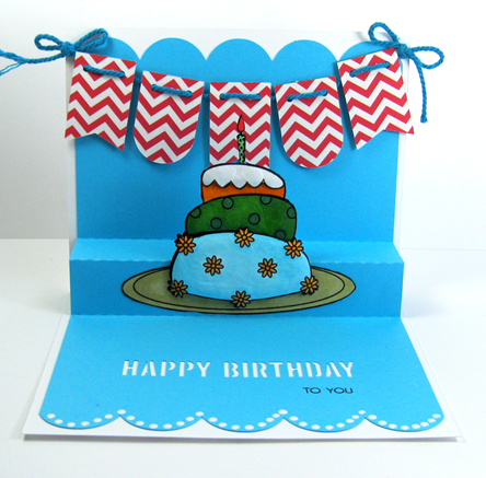 Paper Addictions. Birthday Cake. Ruthie Lopez. My Hobby My Art 2