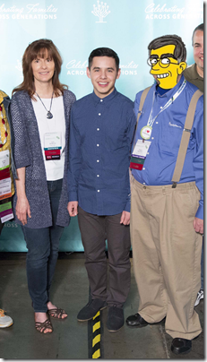 The Ancestry Insider with David Archuleta at RootsTech