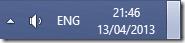 Show Desktop klik