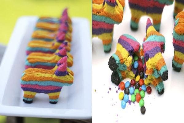 Piñata-Cookies-Cavalinho-Colorido-Confeitos-Chocolate-M&M´s