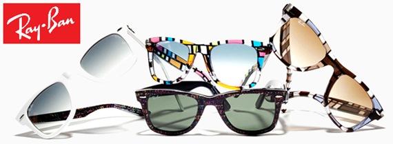 Óculos Ray-Ban Wayfarer linha Rare Prints chega ao Brasil.
