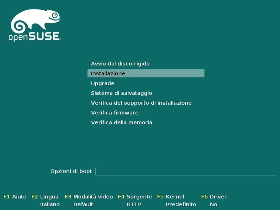 openSUSE Factory - boot installer