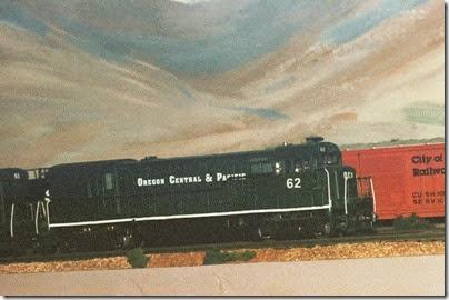 24 479653142 OCP U30B #62 on my Dad's Layout in Fall 2007