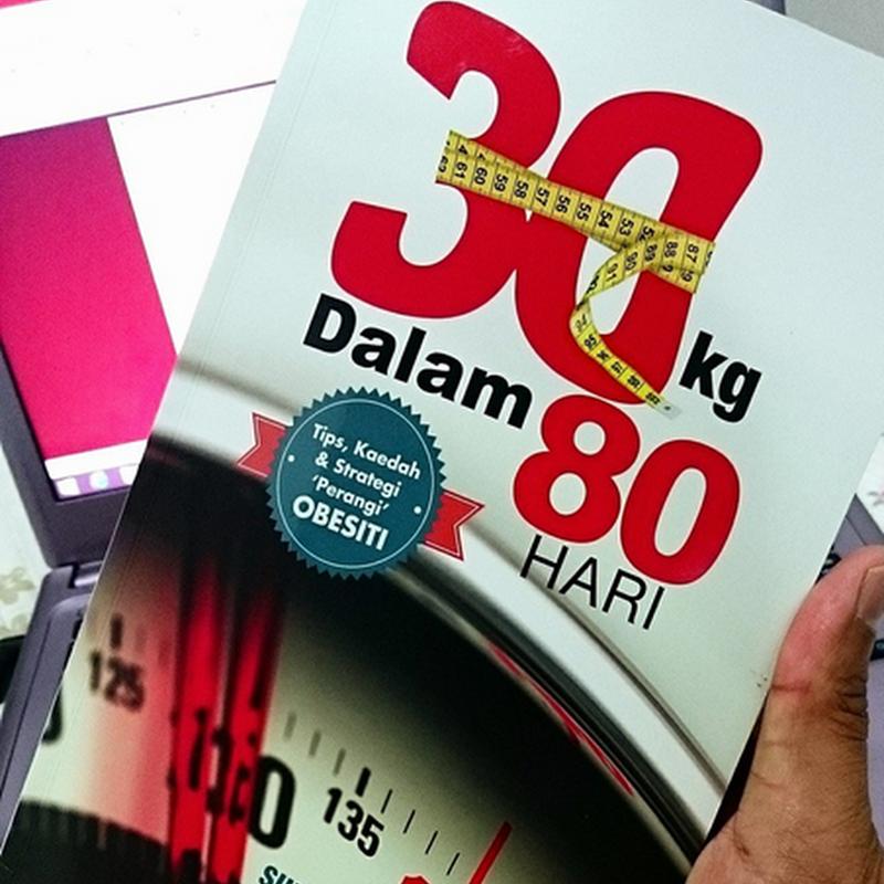 Mustahil tak turun '30kg dalam 80 hari ' ?