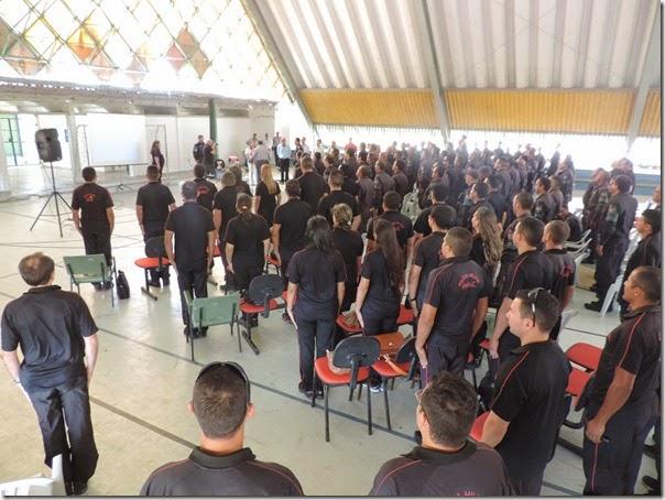 220 policiais participam da qualificação