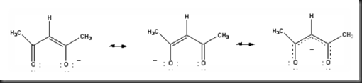 One Part of Chemistry: Resonance structure of acetylacetonate ...