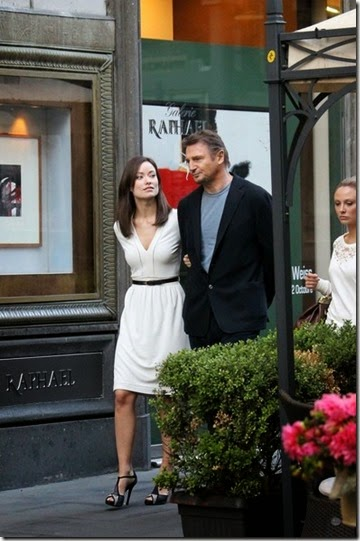 olivia wilde and liam neeson THIRD PERSON