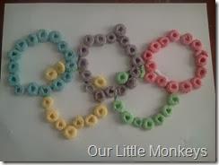 Fruit Loop Olympic Rings