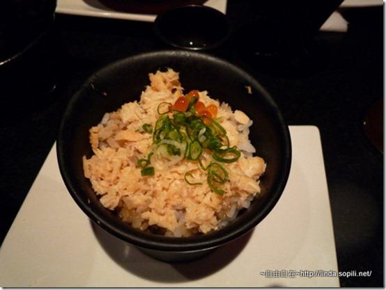 食事-鮭魚季飯