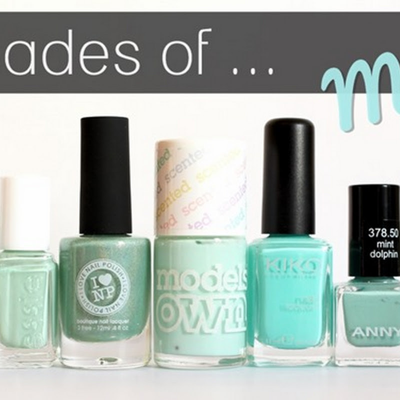 [Blogparade] 7 Shades of … Mint