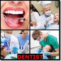 DENTIST- 4 Pics 1 Word Answers 3 Letters