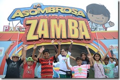 """Parque de diversiones temático """"La asombrosa excursión de Zamba en la época de la Independencia"""""""