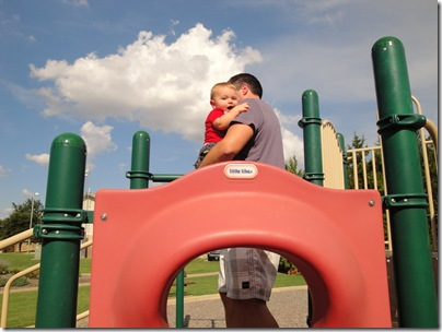 9.  Playground with Daddy