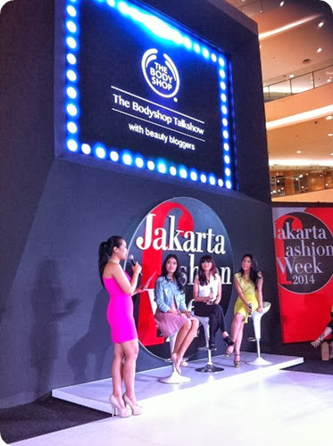 Priscilla beauty blogger The Body Shop Color Crush makeup event talkshow 3