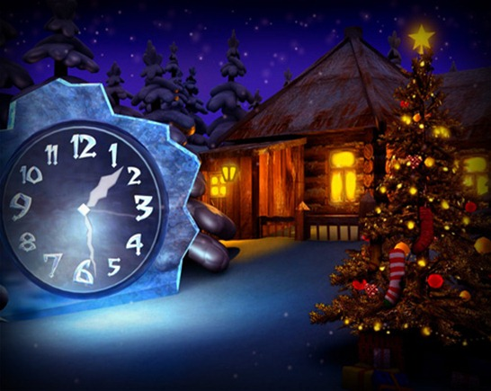 cosy-christmas-clock