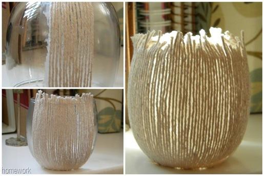 Twine Vase Collage