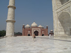 Side view from mausoleum level