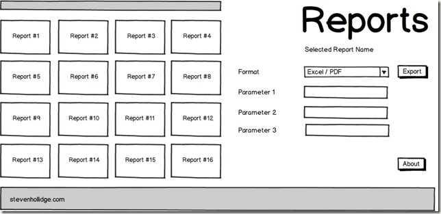 SSRS Reports in Silverlight