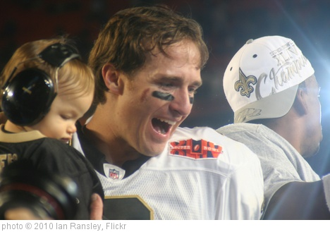 'Drew Brees, Jan. 7th, 2010' photo (c) 2010, Ian Ransley - license: http://creativecommons.org/licenses/by/2.0/