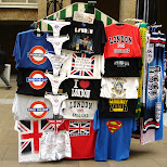 tshirts on sale in downtown london in London, London City of, United Kingdom