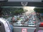 the traffic in Mexico City is great!