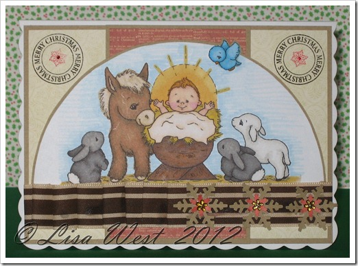 CD Nativity Scene Card (2)