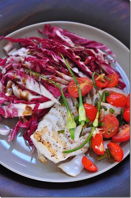 cod with garlic