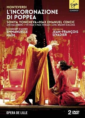 Claudio Monteverdi: L'INCORONAZIONE DI POPPEA [Virgin Classics DVD 9289919]