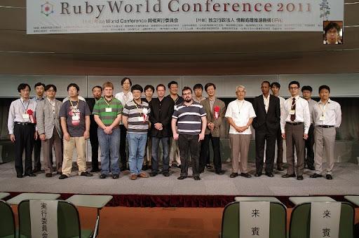 RubyWorld 2011 Speakers