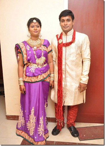 Major Dasan Daughter Archana - Lakshminarayanan Wedding Reception Photos