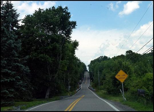 7 - Road to Campground, Narrow Bridge