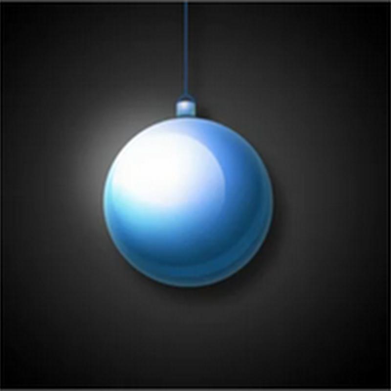 Crear una esfera de navidad en Photoshop