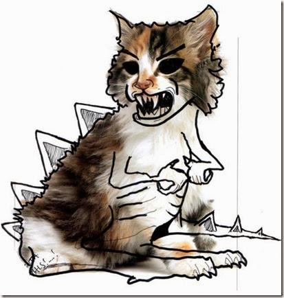 dibujando sobre el gato (6)