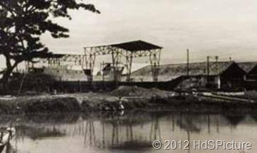 Stasiun Kampung Bandan pada tahun 1955
