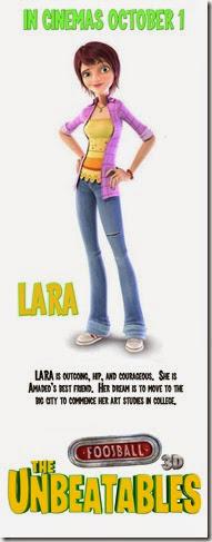 Lara wth Text