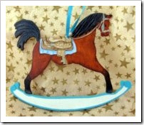 Boy's Rocking Horse Ornament