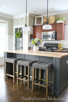DIY extension of kitchen island