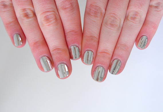 SILVER NAIL FOILS 3