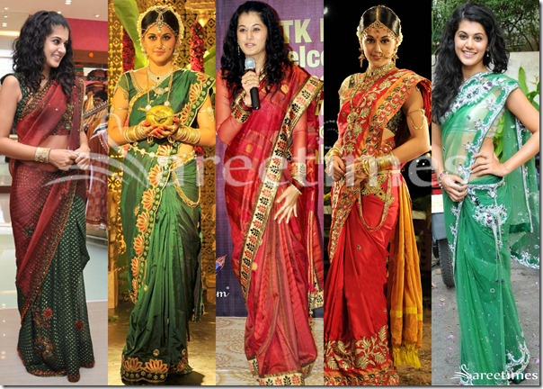 Taapsee_Designer_Sarees