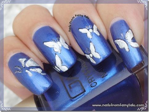silver holo butterflies 3