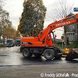 Asfalteren Feiko Clockstraat - Foto's Freddy Stotefalk