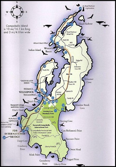 00 - Map of Campobello Island
