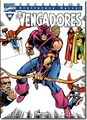 P00030 - Biblioteca Marvel - Avengers #30