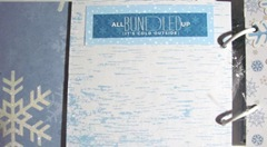 Winter Fun photo journal all bundled up pg.4
